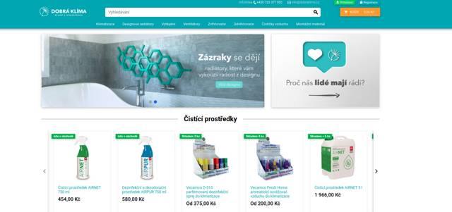 Dobraklima.cz e-shop