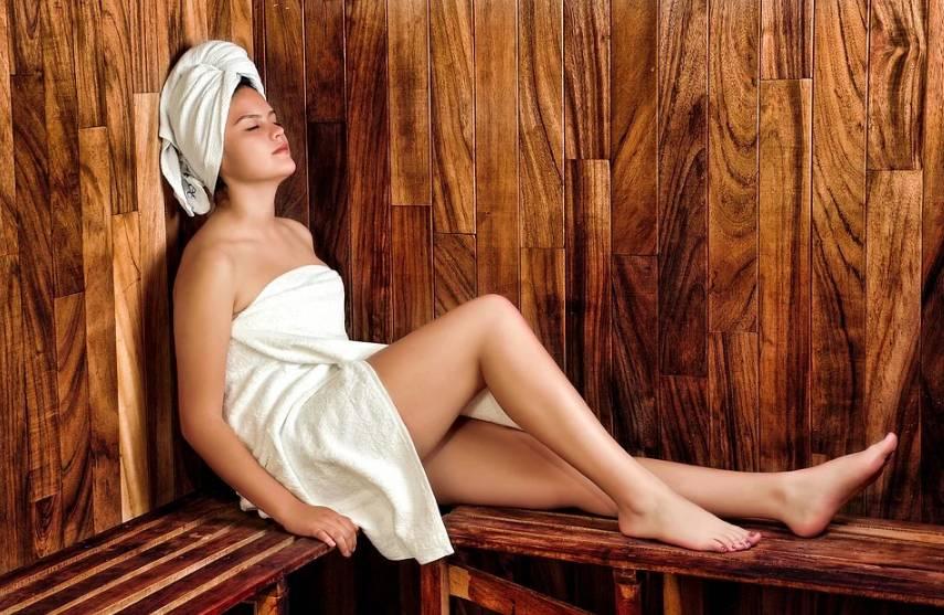 Sauna velmi prospívá našemu zdraví