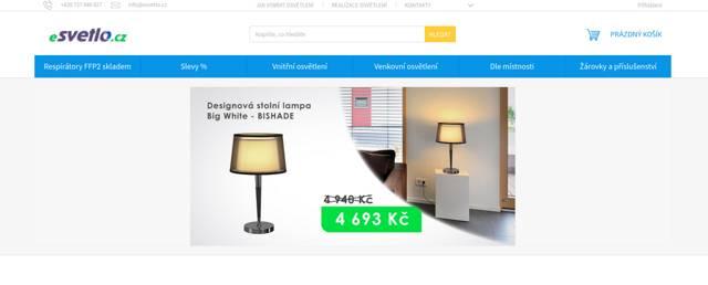 eSvetlo.cz e-shop