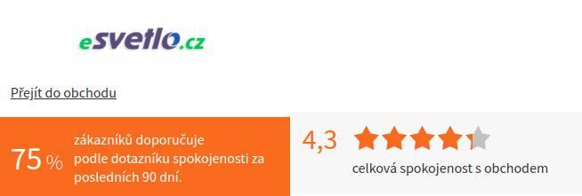 eSvetlo.cz Heureka