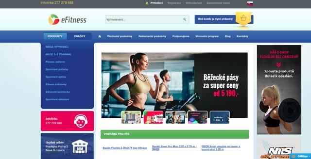 eFitness.cz e-shop