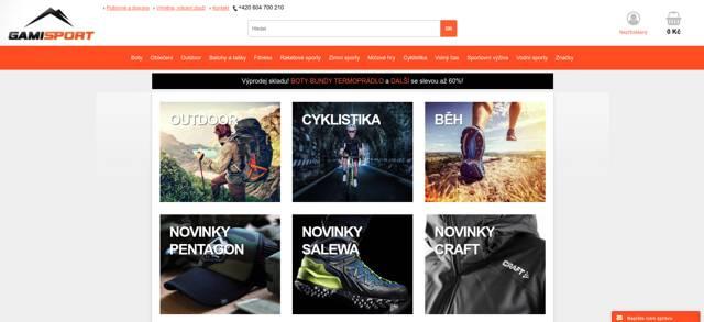 Gamisport.cz e-shop