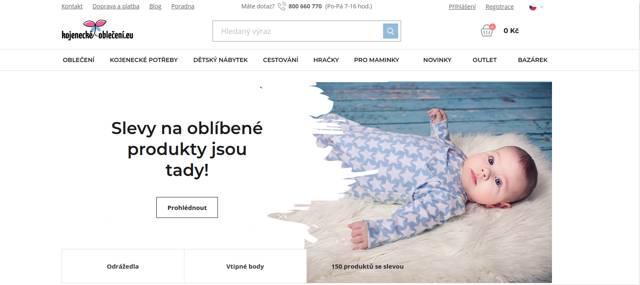 Kojenecké-oblečení.eu e-shop