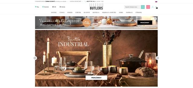 Butlers.cz e-shop