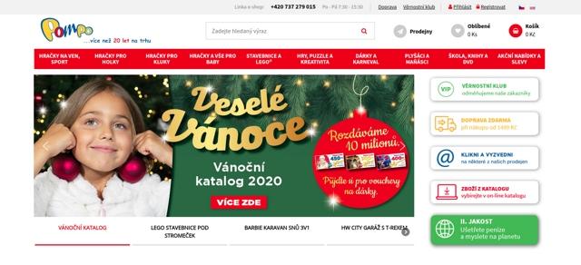 Pompo.cz e-shop