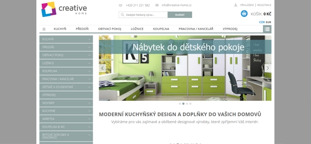 Creative-home.cz e-shop