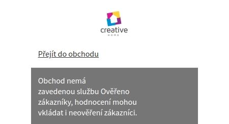 Creative-home.cz Heureka
