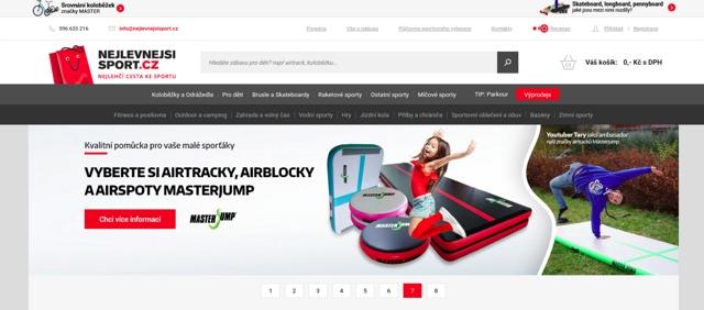 Nejlevnejsisport.cz e-shop