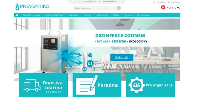 Preventiko.cz e-shop