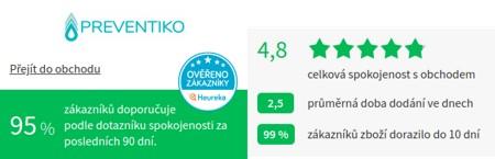 Preventiko.cz Heureka
