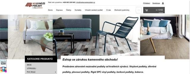 Nejlevnejsipodlahy.cz e-shop