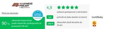 Nejlevnejsipodlahy.cz Heureka
