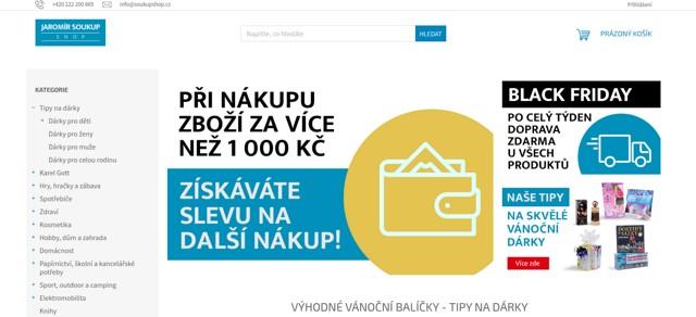 Soukupshop.cz e-shop