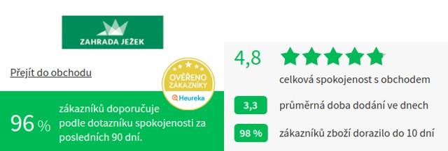ZahradaJežek.cz Heureka