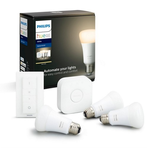Philips Hue White Ambiance sada 3x LED žárovka + ovladač + bridge