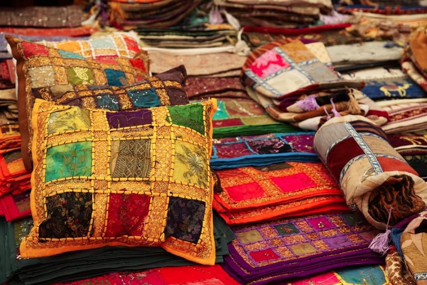 Orientální styl je plný barev