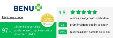 BENU.cz Heureka