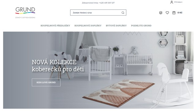 GRUND.cz e-shop