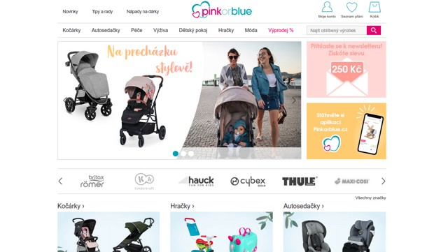 pinkorblue.cz e-shop