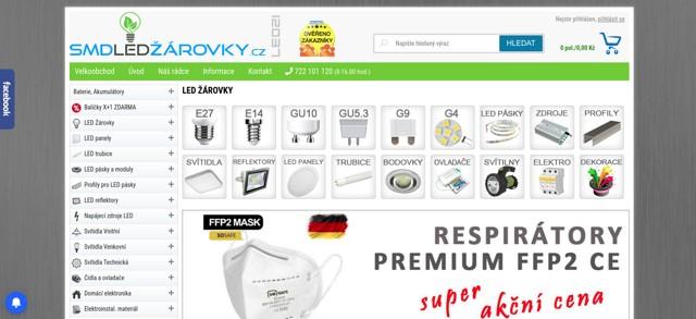 smdLEDzarovky.cz e-shop