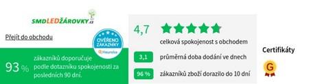 smdLEDzarovky.cz Heureka