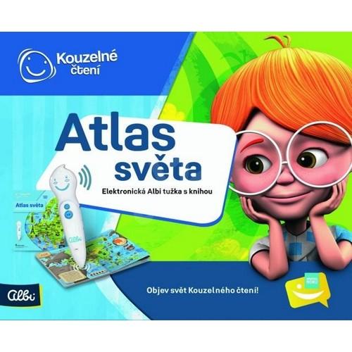 Albi Kouzelné čtení Atlas světa + elektronická tužka