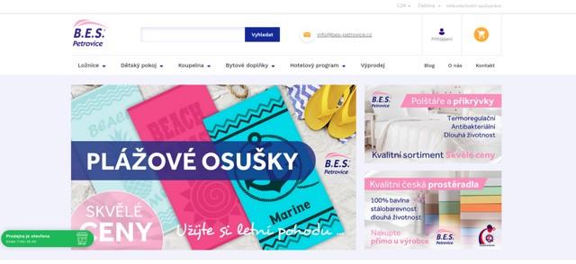 BES-Petrovice.cz e-shop
