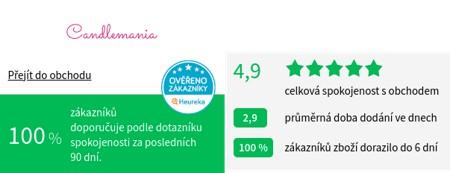 Candlemania.cz Heureka