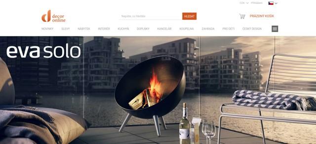 DecorOnline.cz e-shop