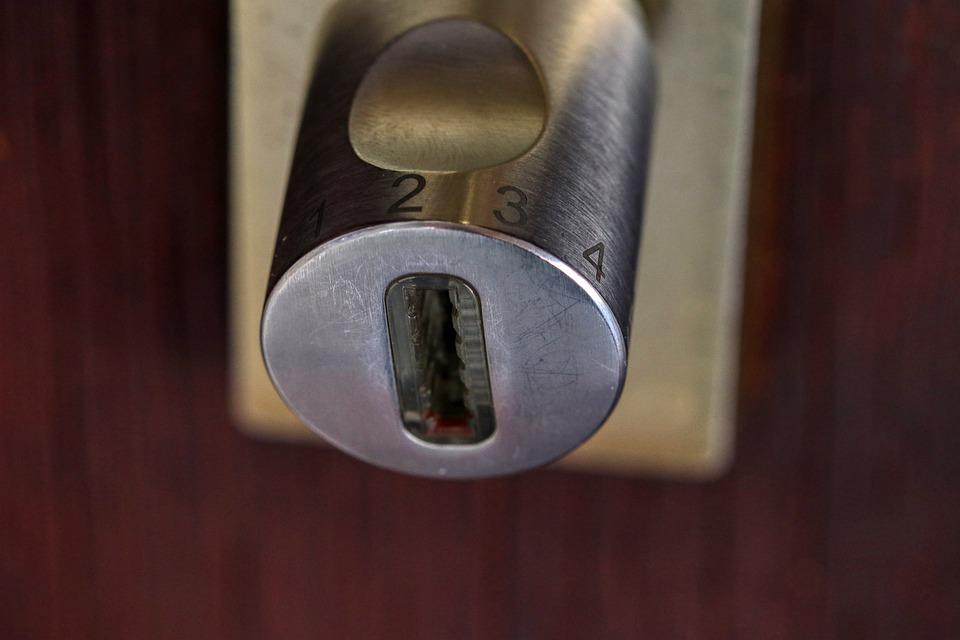 Bezpečnostní zámek vás ochrání
